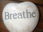 Breathing during massage